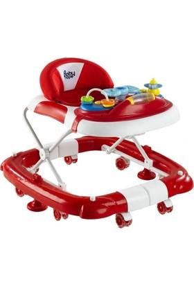 Babyhope 212 Royal Sallanır Yürüteç - Kırmızı