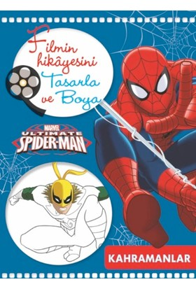 Marvel Ultimate Spider-Man Filmin Hikayesini Tasarla Ve Boya