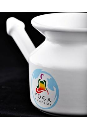 Yoga Academy, Porselen Burun Yıkama Kabı, Neti Pot
