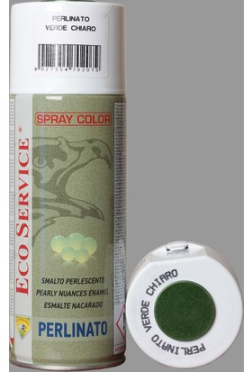 Eco Servis Sprey Boya Metalik Açık Yeşil