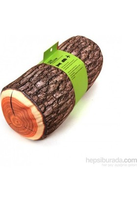 Vip Log Wood Pillow - Kütük Yastık