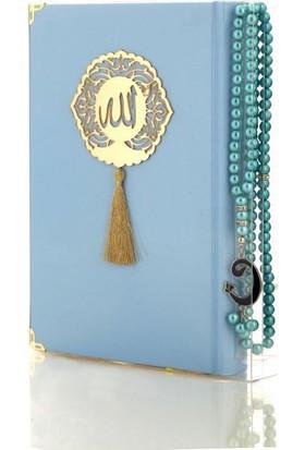 Ecrin Inci Tesbihli Mavi Kuran ı Kerim