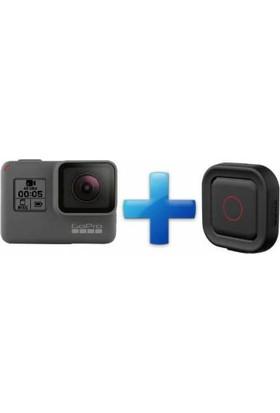 Gopro Hero 5 Black Aksiyon Kamerası + Gopro Remo Sesli Kumanda Dahil Set
