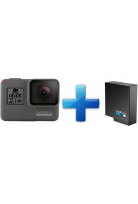 Gopro Hero 5 Black Aksiyon Kamerası + Batarya Combo Set