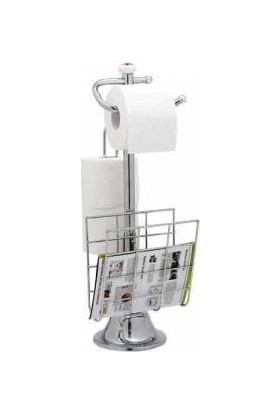 Top Star Krom Gazetelikli Wc Tuvalet Kağıtlığı
