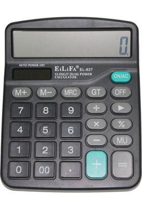Eilifa EL-837 – 12 Hane Masaüstü Hesap Makinesi