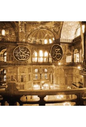 Rengo - İstanbul - Ayasofya Camii Kanvas Tablo (0052)