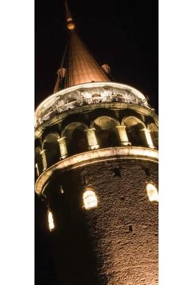 Rengo - İstanbul - Galata Kulesi Kanvas Tablo (0057)