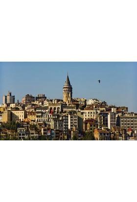 Rengo - İstanbul - Galata Kanvas Tablo (0064)