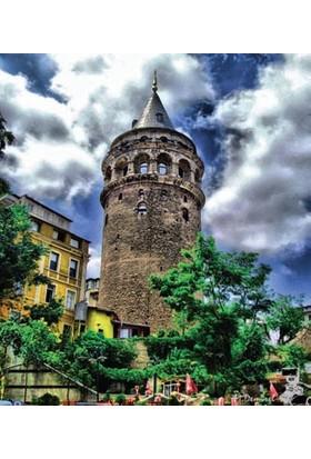 Rengo - İstanbul - Galata Kanvas Tablo (0069)