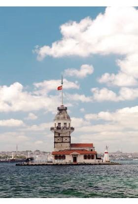 Rengo - İstanbul - Kız Kulesi Kanvas Tablo (0071)