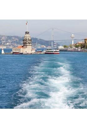 Rengo - İstanbul - Kız Kulesi Kanvas Tablo (0072)