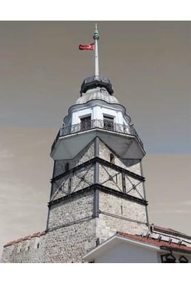 Rengo - İstanbul - Kız Kulesi Kanvas Tablo (0075)