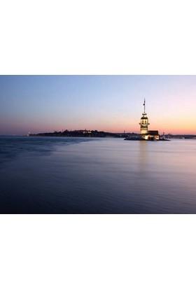 Rengo - İstanbul - Kız Kulesi Kanvas Tablo (0085)