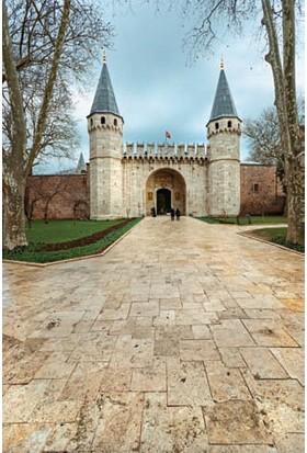 Rengo - İstanbul -Topkapı Sarayı Giriş Kapısı Kanvas Tablo (0120)