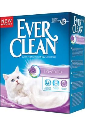 Ever Clean Lavender Lavanta Kokulu Topaklaşan Kedi Kumu 10 Lt