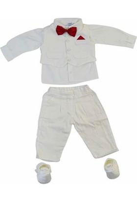 Pugi Baby 2004 Erkek Bebek Mevlüt Takımı