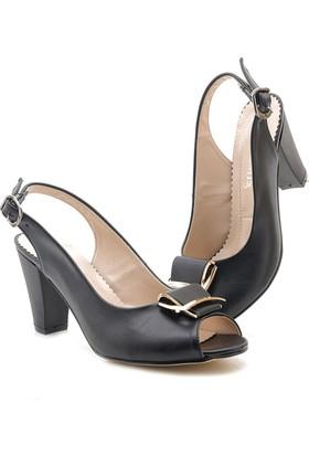Artemis 2106-01 Siyah Alçak Topuk Günlük Ayakkabı