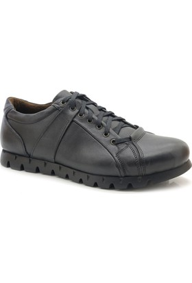 Cosmos Glaze Hakiki Deri Kalın Taban Erkek Günlük Ayakkabı