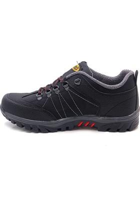 Dakırs Siyah Kalın Taban Ayakkabı