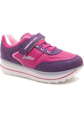 Free Balance Kalın Taban Kız Çocuk Spor Ayakkabı