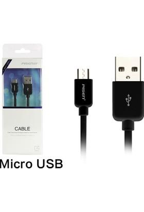 Pisen 1,5 Metre Mikro Usb Data Ve Şarj Kablosu Samsung Lg Sony Huawei Telefon Tablet Aksesuarı
