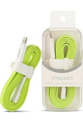 Pisen Apple iPhone Lightning 80 Cm Flat Data Ve Şarj Kablosu Apple iPhone iPad iPod