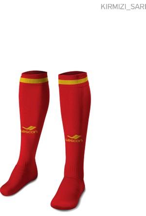 Lescon La-2172 Lacivert Beyaz Erkek Futbol Çorabı 36-39