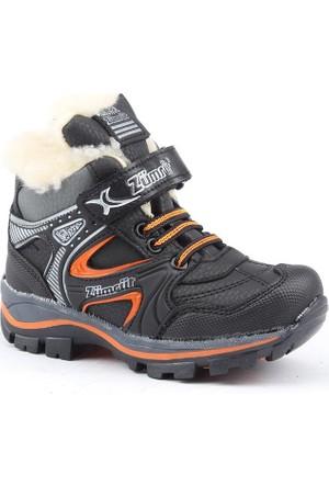 Zümrüt 2700-S İçi Termal Kürklü Erkek Çoçuk Spor Bot Ayakkabı