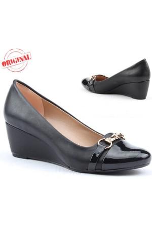 Myzenn 503 Bayan Dolgu Topuk Ayakkabı 5,5 cm Günlük Klasik