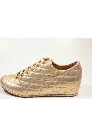 Capriss 702 Altın Bayan Ayakkabı
