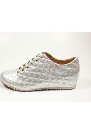 Capriss 702 Gümüş Bayan Ayakkabı