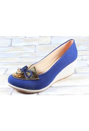 Capriss 510 Lacivert Bayan Keten Ayakkabı