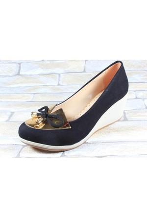 Capriss 510 Siyah Bayan Keten Ayakkabı