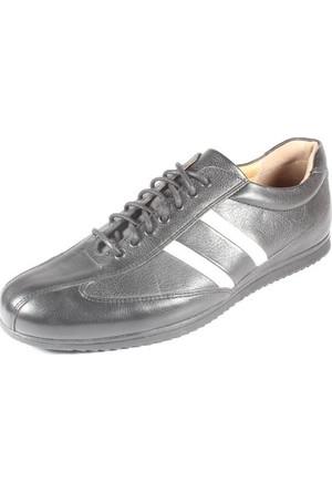 Pablo 212-2013-9 Siyah Beyaz Erkek Ayakkabı