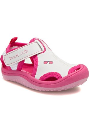 Pink Step Jüpiter A3336161 Beyaz Kız Çocuk Sandalet