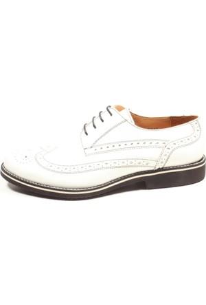 Pablo 223-2287 Beyaz Erkek Klasik Ayakkabı