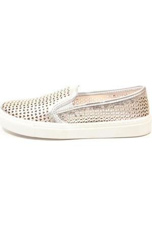 Lumberjack 1512685S Gümüş Bayan Ayakkabı