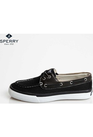Sperry Sts13348 Sperry Bahama 2-Eye Ballistic Black