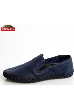 Vronsky Kc Mps0200-112 Kot Mavi Nubuk Ayakkabı