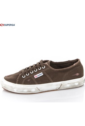 Superga 2750-Cotustonewash X01070 S0037l0 Military Green