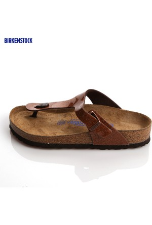 Birkenstock 847451 Gizeh Bf Wb Birkenstock Magic Galaxy Bronze Terlik