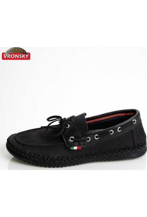 Vronsky Kc Mps0320-112 Siyah Nubuk Ayakkabı