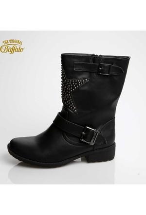 Buffalo 331751 Leather Pu Black 01