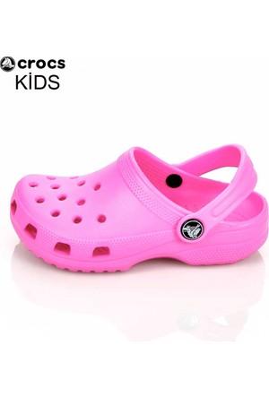 Crocs P022542 Classic Kids Neon Magenta 23-28 Sandalet