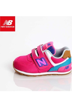 New Balance Kg574t4i Kids İnfant Pink Blue Ayakkabı
