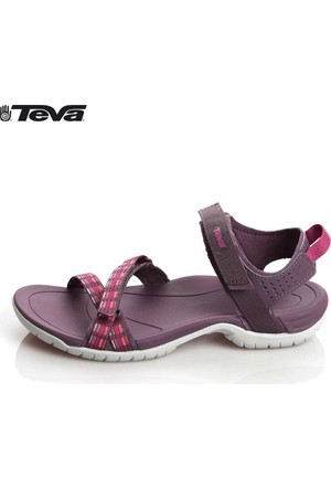 Teva Verra 01W01y150002 Modern Stripes Purple 1006263 Sandalet