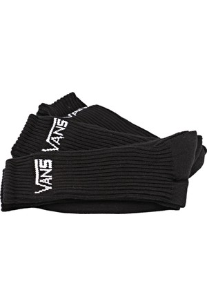 Vans Vxseblk Classıc Crew (3Pk Siyah Erkek Çorap