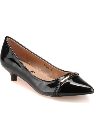 Miss F F17021 Siyah Kadın Klasik Ayakkabı
