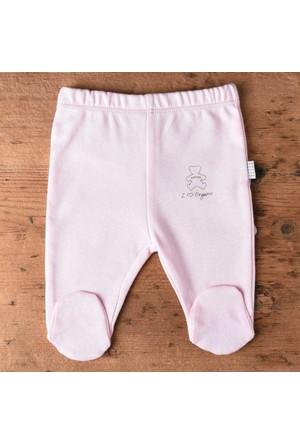 Baby Center S77763 Organic Patikli Bebek Pantolonu